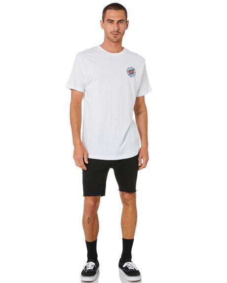 WHITE MENS CLOTHING SANTA CRUZ TEES - SC-MTD0913WHT