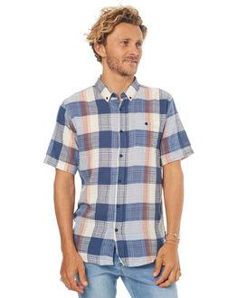 NAVY MENS CLOTHING EZEKIEL SHIRTS - ES172024NVY