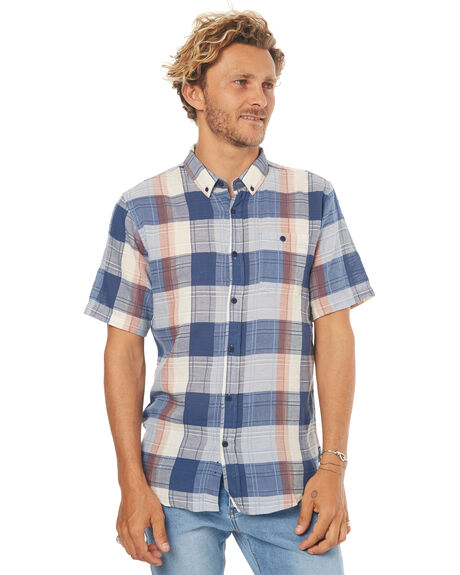 NAVY MENS CLOTHING EZEKIEL SHIRTS - ES172024NVY