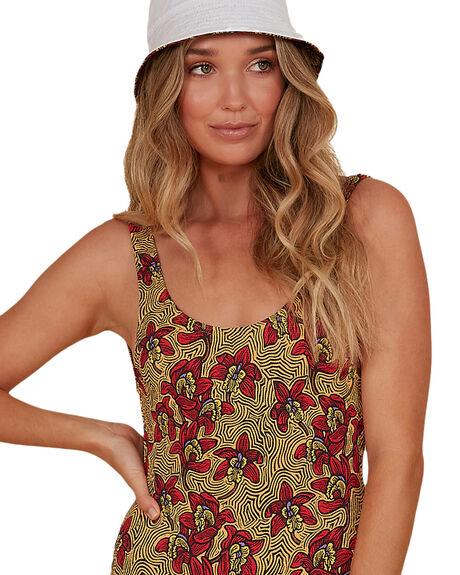 RED WOMENS SWIMWEAR BILLABONG ONE PIECES - BB-6507686M-RED