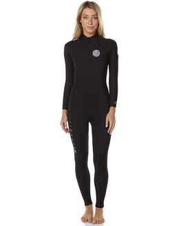 BLACK SURF WETSUITS RIP CURL STEAMERS - WSM6FW0090