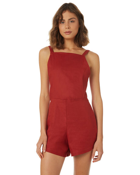 SIERRA WOMENS CLOTHING AFENDS PLAYSUITS + OVERALLS - W183854-SRA