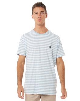 BLUE STRIPE MENS CLOTHING BARNEY COOLS TEES - 106-MC4BSTR