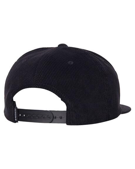 BLACK MENS ACCESSORIES NIXON HEADWEAR - C2857000