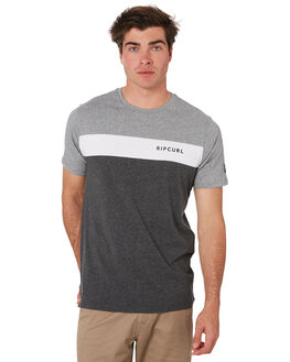 BLACK MARLE MENS CLOTHING RIP CURL TEES - CTESG23442