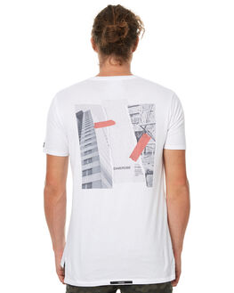 WHITE MENS CLOTHING ZANEROBE TEES - 113-TDKWHT