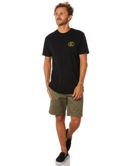 BLACK MENS CLOTHING DEPACTUS TEES - D5193006BLACK