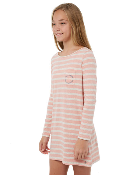 ROSE TAN HEATH BICO KIDS GIRLS ROXY DRESSES - ERGKD03056MHB3