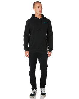 BLACK DUSTY AQUA MENS CLOTHING VOLCOM JUMPERS - A41118XXBLKAQ