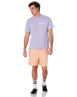 SOFT LAVENDER WHITE MENS CLOTHING CARHARTT TEES - I02480603O