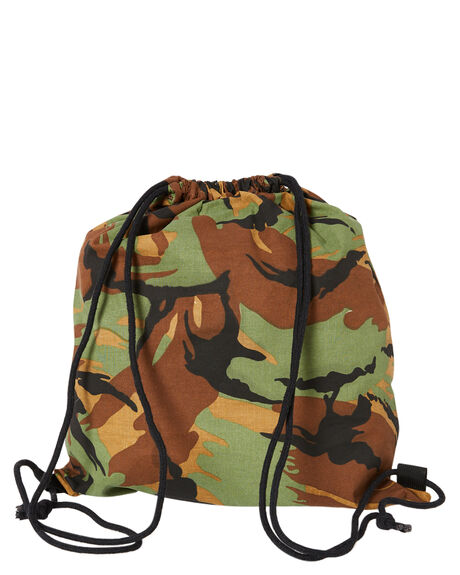OLIVE CAMO MENS ACCESSORIES RVCA BAGS + BACKPACKS - R307475AOLVC