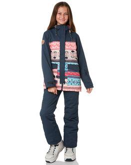 FOLKLORE PRINT BOARDSPORTS SNOW ROJO GIRLS - WI19RGOJ6002FOL