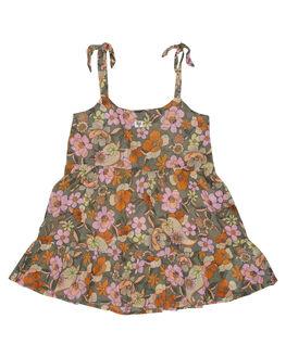 MINERAL GREEN KIDS GIRLS BILLABONG DRESSES + PLAYSUITS - 5582473MNG