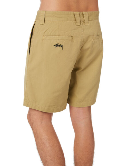 TAUPE MENS CLOTHING STUSSY SHORTS - ST002604TAUPE