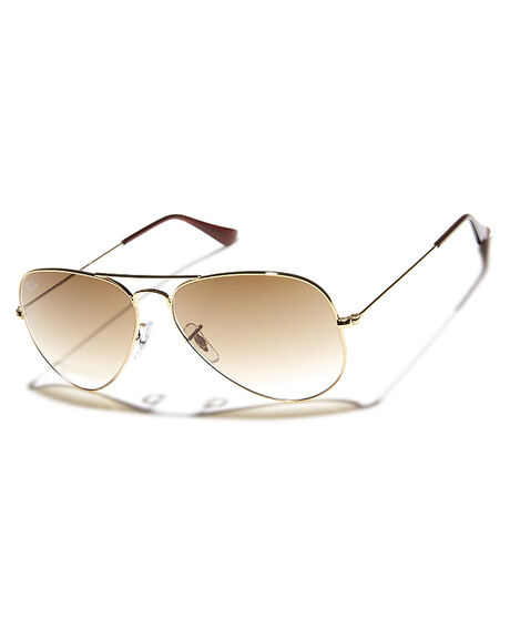 ARISTA BROWN MENS ACCESSORIES RAY-BAN SUNGLASSES - 0RB302558151