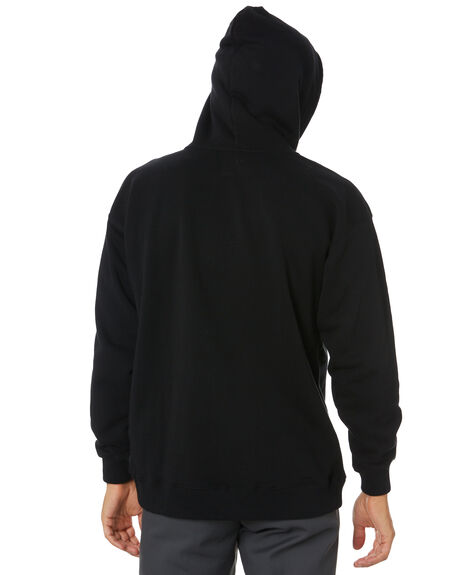 BLACK MENS CLOTHING BRIXTON JUMPERS - 02768BLK