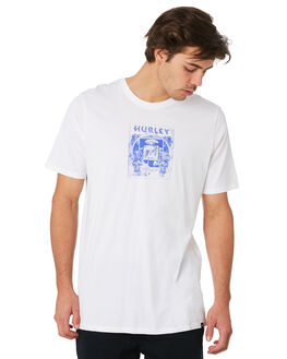WHITE MENS CLOTHING HURLEY TEES - AJW0001100