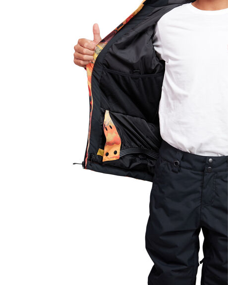 BARN RED MATTE BOARDSPORTS SNOW QUIKSILVER KIDS - EQBTJ03098-RQJ1