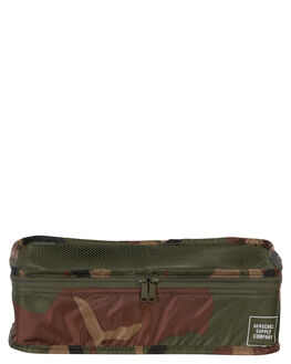 WOODLAND CAMO MENS ACCESSORIES HERSCHEL SUPPLY CO BAGS - 10297-00188-OSWOOD