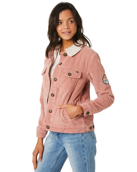 DUSTY ROSE WOMENS CLOTHING O'NEILL JACKETS - 5321512DSR