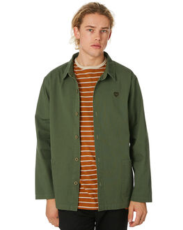 ARMY OLIVE MENS CLOTHING BANKS JACKETS - WJT0051ARO