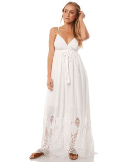 WHITE LACE WOMENS CLOTHING WILDE WILLOW DRESSES - K366-WWHITE