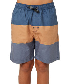 NAVY KIDS BOYS SWELL BOARDSHORTS - S3193232NAVY