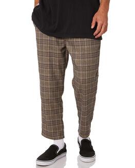 TAN MENS CLOTHING STUSSY PANTS - ST096603TAN