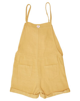 SUNSHINE KIDS GIRLS EVES SISTER DRESSES + PLAYSUITS - 8045028YLW