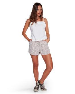 WHITE WOMENS CLOTHING BILLABONG FASHION TOPS - BB-6592091-WHT
