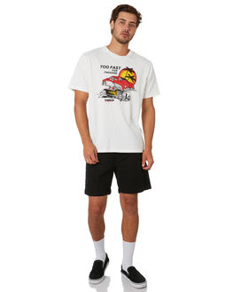 DIRTY WHITE MENS CLOTHING THRILLS TEES - TA20-127ADTWHT