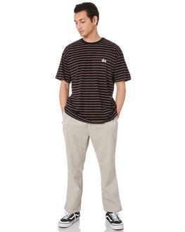 LIGHT GREY MENS CLOTHING STUSSY PANTS - ST006605LGRY