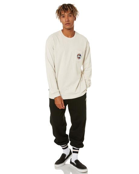 WHITE SAND MENS CLOTHING STUSSY TEES - ST001009WHTSN