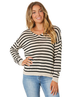 STRIPE WOMENS CLOTHING RUSTY KNITS + CARDIGANS - CKL0338SRP