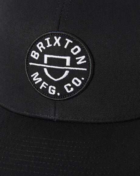 BLACK MENS ACCESSORIES BRIXTON HEADWEAR - 10651BLACK