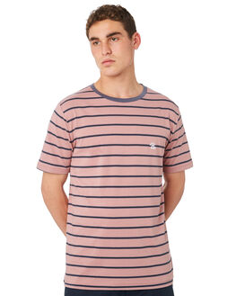 ROSE STRIPE MENS CLOTHING BARNEY COOLS TEES - 101-CR4RSEST