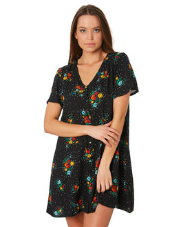 FLORAL WOMENS CLOTHING SWELL DRESSES - S8202445FLOR