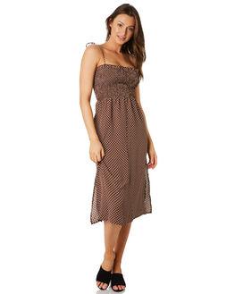 POLKA DOT WOMENS CLOTHING LULU AND ROSE DRESSES - LU23819POLK