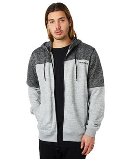 LIGHT GREY HEATHER MENS CLOTHING QUIKSILVER JUMPERS - EQYFT03801SJSH