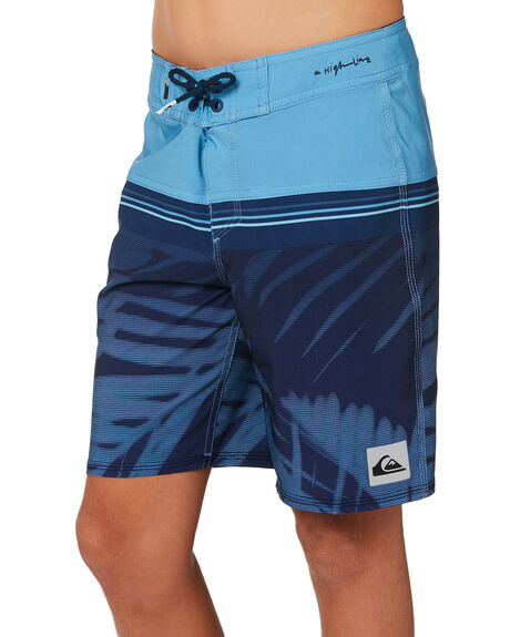 MEDIEVAL BLUE KIDS BOYS QUIKSILVER BOARDSHORTS - EQBBS03307BTE6