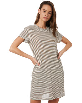 NAVAL GREY WOMENS CLOTHING RUSTY DRESSES - DRL1014BLUE