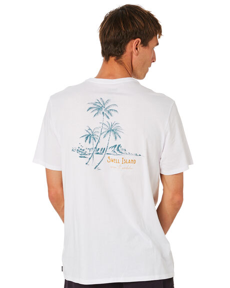 WHITE MENS CLOTHING SWELL TEES - S5212010WHITE