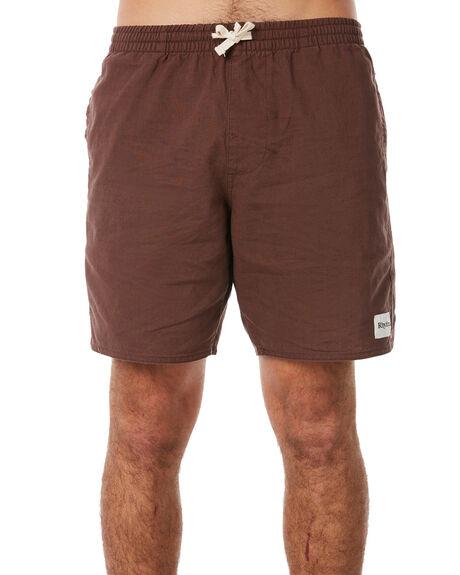 VINTAGE BROWN MENS CLOTHING RHYTHM SHORTS - APR18M-JM02BRO