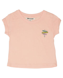 ROSE QUARTZ KIDS GIRLS BILLABONG TOPS - 5595003RQZ
