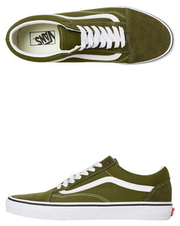 GREEN MENS FOOTWEAR VANS SNEAKERS - SSVNA4BV5V7DM