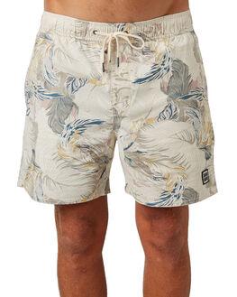 TAN MULTI MENS CLOTHING INSIGHT BOARDSHORTS - 5000002633TANM
