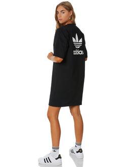 BLACK WOMENS CLOTHING ADIDAS DRESSES - DV2607BLK