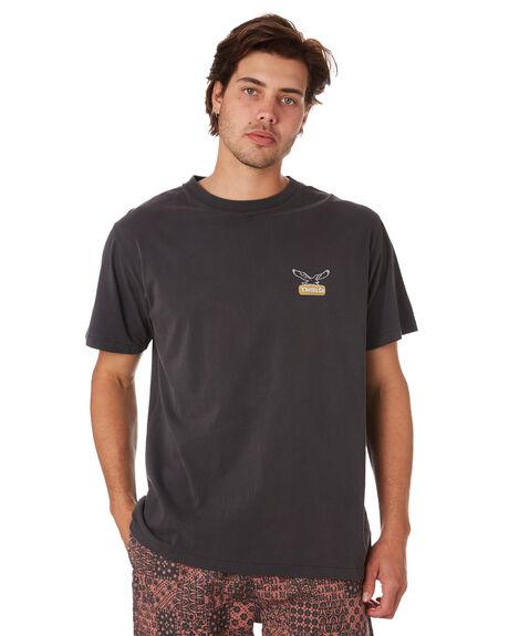 VINTAGE BLACK MENS CLOTHING THRILLS TEES - TS9-116VBVNBLK