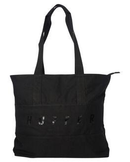 BLACK WOMENS ACCESSORIES HUFFER BAGS + BACKPACKS - UA83C011BLK
