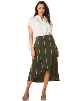 PENNY STRIPE WOMENS CLOTHING SANCIA SKIRTS - 878A_PENN